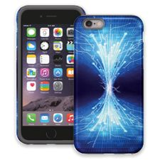 Fiber Optics iPhone 6 ColorStrong Cush-Pro Case