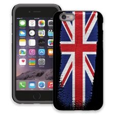 Brushstroke Union Jack iPhone 6 ColorStrong Cush-Pro Case