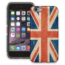 Vintage British Flag iPhone 6 ColorStrong Cush-Pro Case