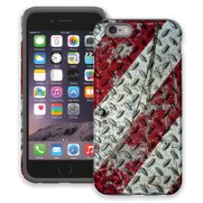 Steel and Stripes iPhone 6 ColorStrong Cush-Pro Case