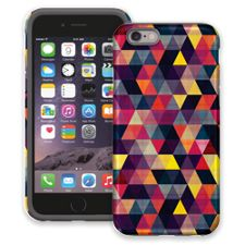 Transparent Triangles iPhone 6 ColorStrong Cush-Pro Case