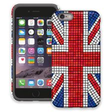 Union Jack Mosaic iPhone 6 ColorStrong Cush-Pro Case