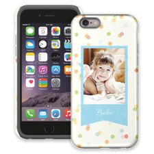 Paper Dots iPhone 6 ColorStrong Cush-Pro Case