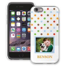 Rainbow Sprinkles iPhone 6 ColorStrong Cush-Pro Case