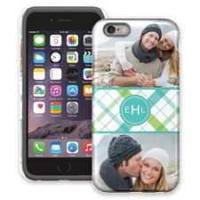 Spring Plaid iPhone 6 ColorStrong Cush-Pro Case