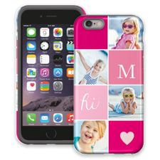 Strawberry Squares iPhone 6 ColorStrong Cush-Pro Case