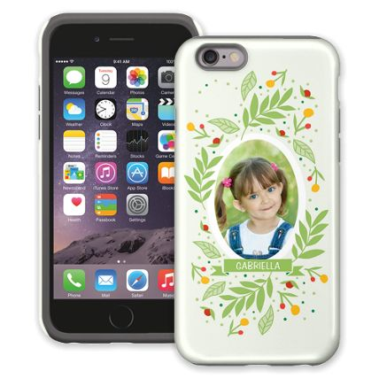 Leaves & Berries iPhone 6 ColorStrong Cush-Pro Case