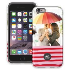 Raspberry Waves iPhone 6 ColorStrong Cush-Pro Case