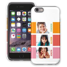 Sherbet Blocks iPhone 6 ColorStrong Cush-Pro Case