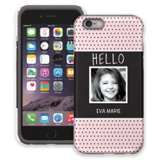 Retro Dots iPhone 6 ColorStrong Cush-Pro Case