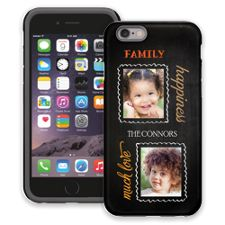 Family Portrait Duo iPhone 6 ColorStrong Cush-Pro Case