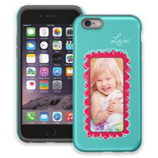 Love Scribbles iPhone 6 ColorStrong Cush-Pro Case