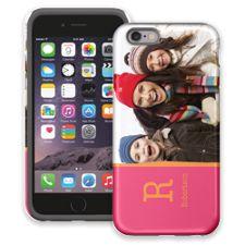 Rainbow Sherbet iPhone 6 ColorStrong Cush-Pro Case