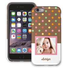 Ice Cream Sundae iPhone 6 ColorStrong Cush-Pro Case