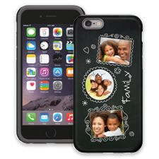 Chalk Portraits Trio iPhone 6 ColorStrong Cush-Pro Case