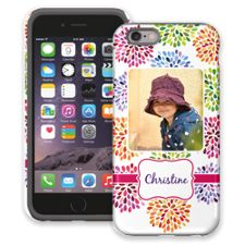 Chrysanthemum Fireworks iPhone 6 ColorStrong Cush-Pro Case