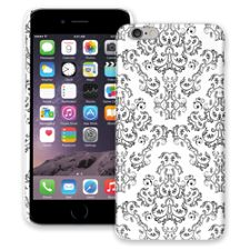 Dainty Black and White Damask iPhone 6 Plus ColorStrong Slim-Pro Case