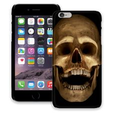 Grinning Skull iPhone 6 Plus ColorStrong Slim-Pro Case