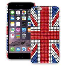 Union Jack Mosaic iPhone 6 Plus ColorStrong Slim-Pro Case