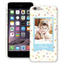 Paper Dots iPhone 6 Plus ColorStrong Slim-Pro Case