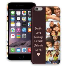 Chocolate Live Laugh Love iPhone 6 Plus ColorStrong Slim-Pro Case