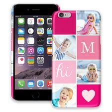 Strawberry Squares iPhone 6 Plus ColorStrong Slim-Pro Case