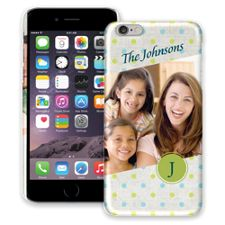 Polka Dot Muslin iPhone 6 Plus ColorStrong Slim-Pro Case