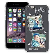 Chalk Portraits Duo iPhone 6 Plus ColorStrong Slim-Pro Case