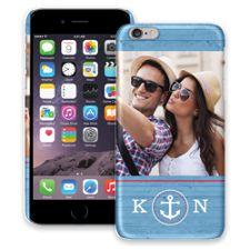 Blue Nautical iPhone 6 Plus ColorStrong Slim-Pro Case
