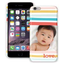 Wavy Stripes iPhone 6 Plus ColorStrong Slim-Pro Case
