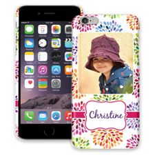 Chrysanthemum Fireworks iPhone 6 Plus ColorStrong Slim-Pro Case