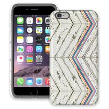 Rainbow Refraction White Wood iPhone 6 Plus ColorStrong Cush-Pro Case