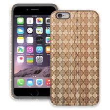 Aged Wood Quatrefoil iPhone 6 Plus ColorStrong Cush-Pro Case