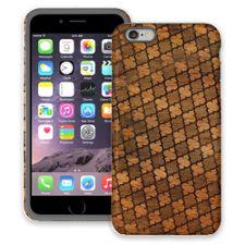 Mahogany Quatrefoil iPhone 6 Plus ColorStrong Cush-Pro Case