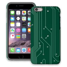 Circuit Board Highway iPhone 6 Plus ColorStrong Cush-Pro Case