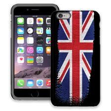 Brushstroke Union Jack iPhone 6 Plus ColorStrong Cush-Pro Case