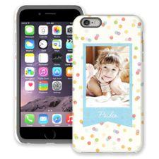 Paper Dots iPhone 6 Plus ColorStrong Cush-Pro Case