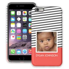 Skinny Stripes iPhone 6 Plus ColorStrong Cush-Pro Case