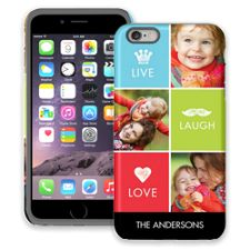 Bright Live Laugh Love iPhone 6 Plus ColorStrong Cush-Pro Case