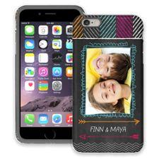 Chevron Chalkboard iPhone 6 Plus ColorStrong Cush-Pro Case