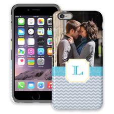 Chevron Initial iPhone 6 Plus ColorStrong Cush-Pro Case