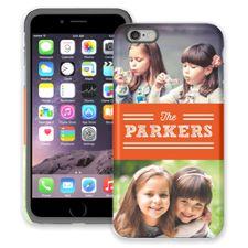 Orange Bar iPhone 6 Plus ColorStrong Cush-Pro Case