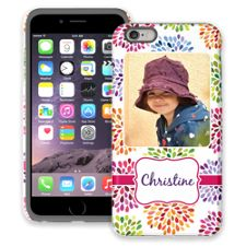 Chrysanthemum Fireworks iPhone 6 Plus ColorStrong Cush-Pro Case