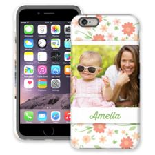 Sweet Floral iPhone 6 Plus ColorStrong Cush-Pro Case