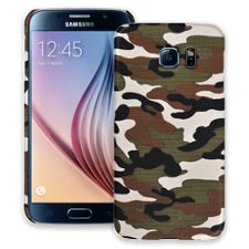 Woodland Camouflage Samsung Galaxy S6 ColorStrong Slim-Pro Case