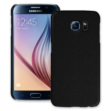 Carbon Fiber Satin Samsung Galaxy S6 ColorStrong Slim-Pro Case