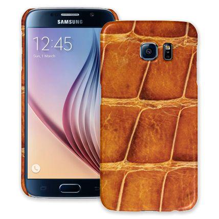 Brown Gator Samsung Galaxy S6 ColorStrong Slim-Pro Case