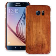 Rosewood Samsung Galaxy S6 ColorStrong Slim-Pro Case