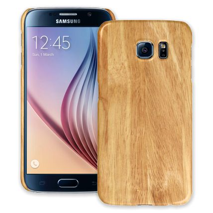 Oak Samsung Galaxy S6 ColorStrong Slim-Pro Case
