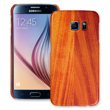 African Mahogany Samsung Galaxy S6 ColorStrong Slim-Pro Case